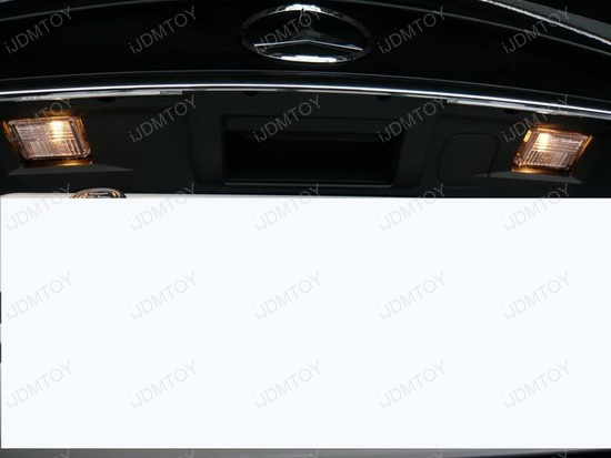 Mercedes - C350 - error - free - led - license - plate - lights - 1